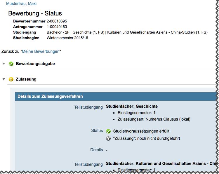 Bewerbende Mit Deutscher Hzb